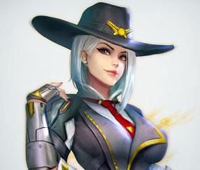 r34hub new hero overwatch ashe rule 34