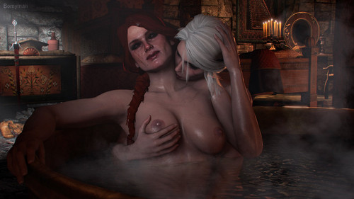 Rule 34 bomyman91, cerys an craite, ciri, cirilla, the witcher, the witcher 3