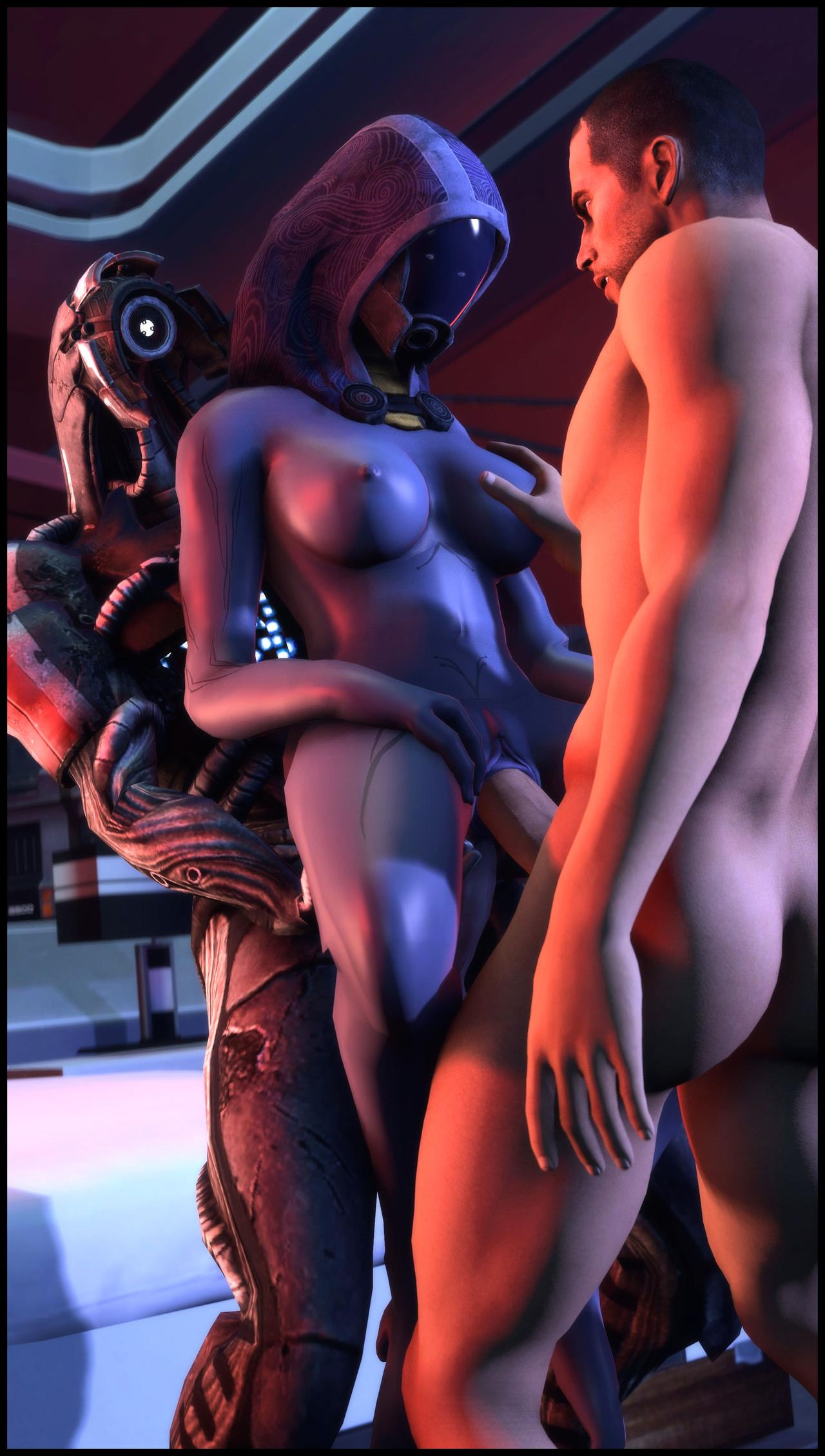 tali'zorah vas normandy, kal'reegar, quarian, commander shepard, mass effect