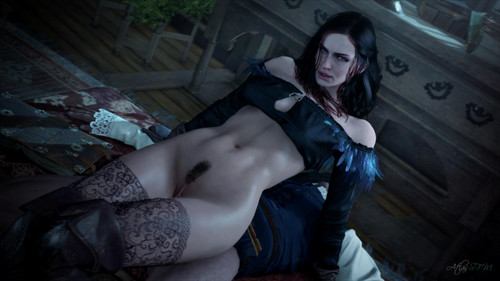 Rule 34 the witcher, the witcher 3, yennefer, yennefer of vengerberg