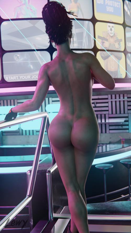 Rule 34 cyberpunk 2077, panam palmer