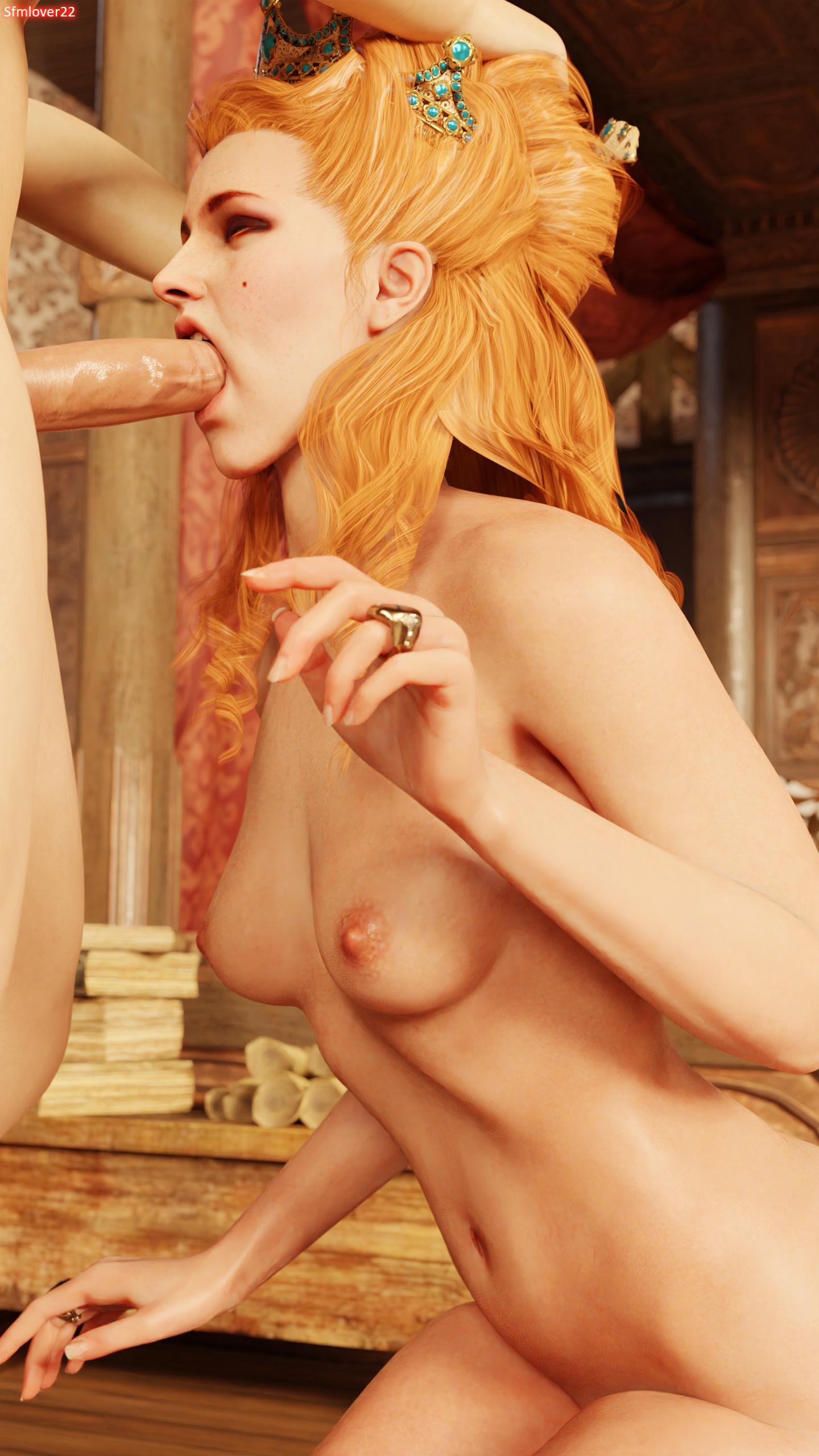 anna henrietta, the witcher 3, the witcher