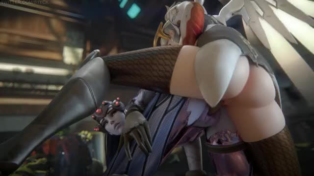 Rule 34 mercy, overwatch