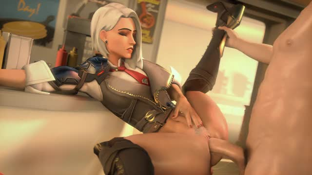Rule 34 ashe, overwatch
