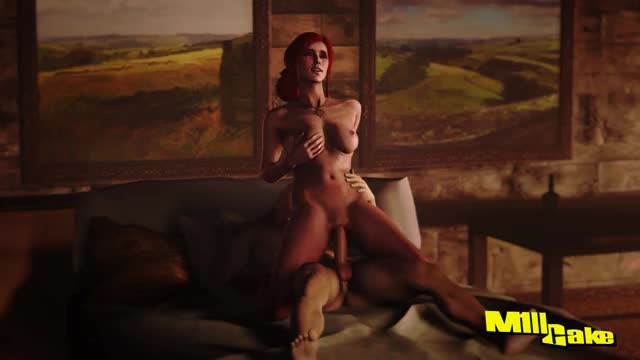 Rule 34 the witcher, triss, triss merigold