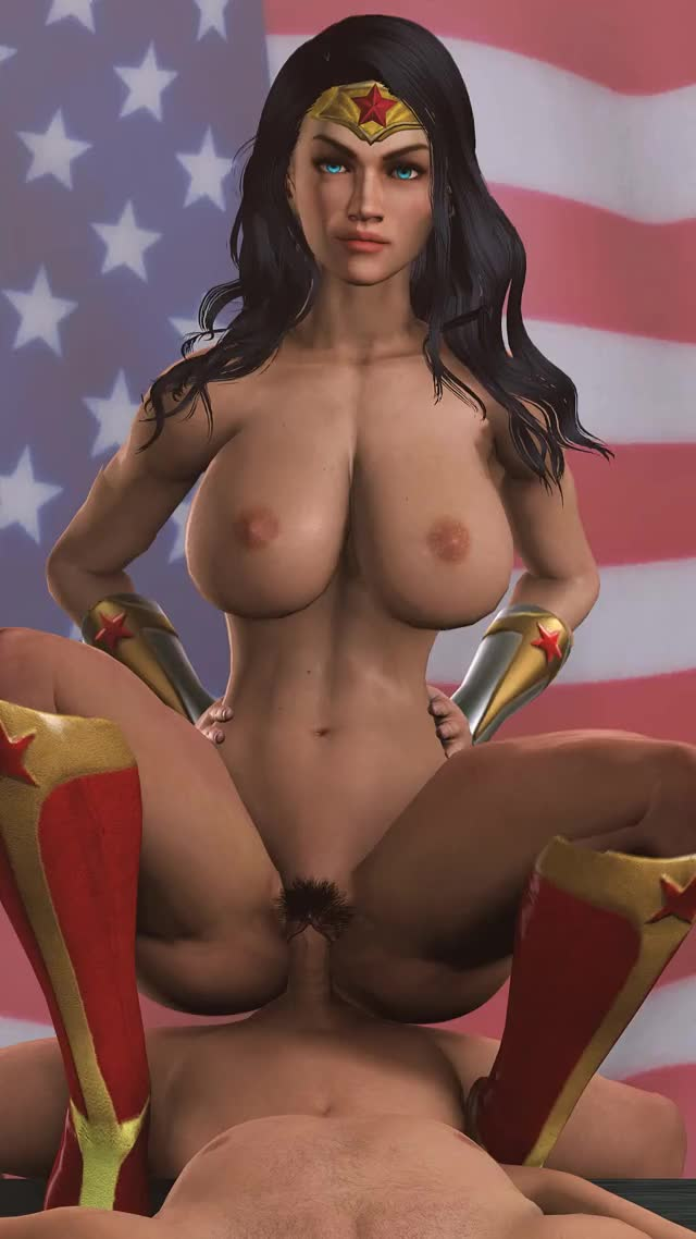 Vrbangers Amazing Wonder Woman Cosplay Fuck