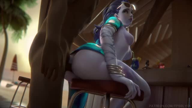 Rule 34 black, overwatch