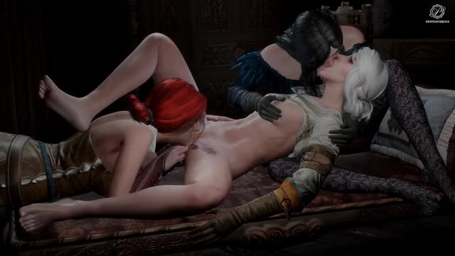 Rule 34 ciri, cirilla, pewposterous, the witcher, triss, triss merigold, yennefer, yennefer of vengerberg